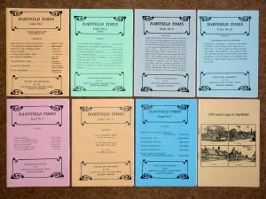 Hartfield Times 8 booklets