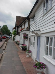 The High Street opposite the hay Waggon